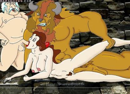 the and beauty beast Scooby doo daphne and velma naked