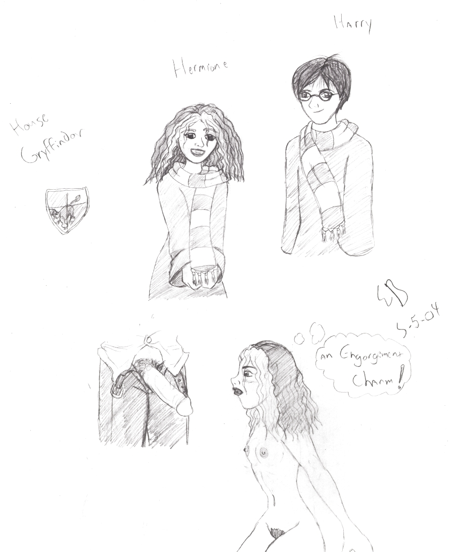 from harry potter naked hermione Fanboy and chum chum wizard