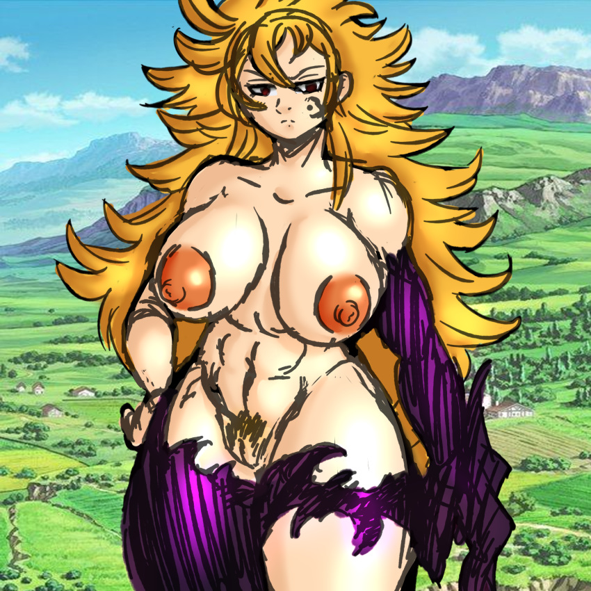 sins the elaine deadly seven How old is hilda pokemon