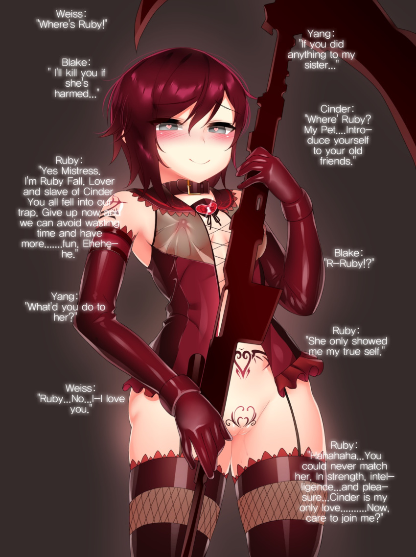 and ruby rwby fanfiction blake Jessica alba bound and gagged