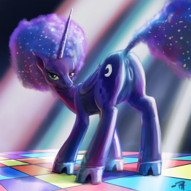 my pony luna little pictures of from Blood plus saya and diva